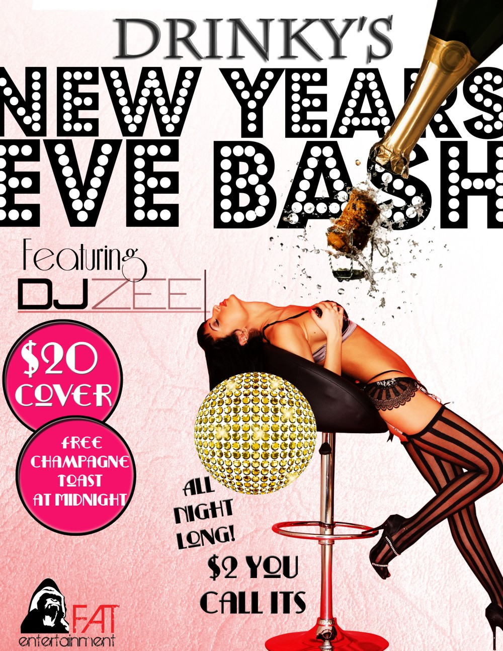 NYE 2013 Flyer