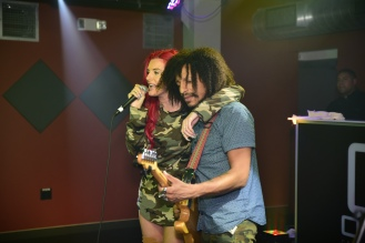 F.A.T. Entertainment Red Carpet event with MTV Wild'N'Out's Justina Valentine