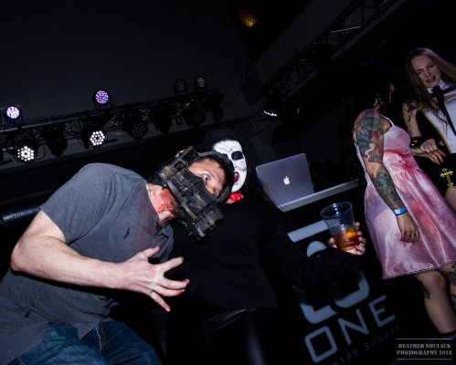 Once Centre Scared 2 with DJ Zee, Nick Eckert, FAT Entertainment at One Centre Square in Easton PA